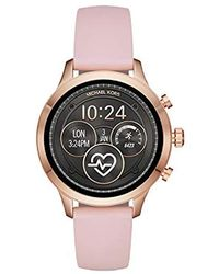 69a08b504083 Lyst - Michael Kors Stainless Steel and Crystal Chronograph Watch in ...