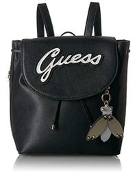 Guess - Varsity Pop-pin Up Backpack - Lyst