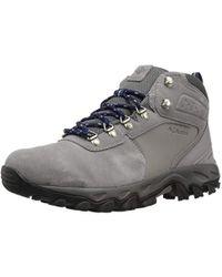 Columbia - Newton Ridge Plus Ii Suede Waterproof Hiking Shoe - Lyst