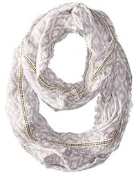 Michael Stars - Ikat And Fringe Eternity Scarf - Lyst