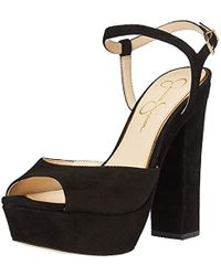 8ea623ce50 Lyst - Jessica Simpson Lorinna Platform Sandal in Black