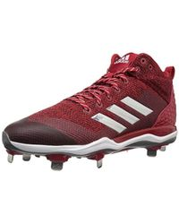5c615f592 Lyst - adidas Originals Freak X Carbon Mid Baseball Shoe in Red for Men