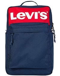 1643a39b1f Lyst - Levi s Two-tone Backpack in Blue for Men
