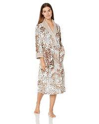 N Natori - Plush Fleece Robe - Lyst