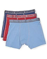Kenneth Cole Reaction - Micro Fiber Stretch 3-pack Boxer Brief - Lyst