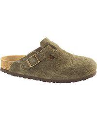 Birkenstock - Arizona Soft Footbed Suede Sandal - Lyst