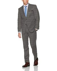 Perry Ellis - Two Button Slim Fit Suit - Lyst