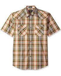 Pendleton - Short Sleeve Button Front Frontier Shirt - Lyst