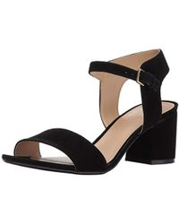 90b870a98e4 Lyst - Corso Como  caitlyn  Sandal in Black