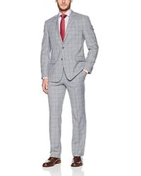 "Geoffrey Beene - 32"" Finished Bottom Suit - Lyst"