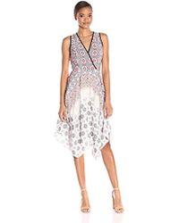 Shoshanna Tiles Print Emmy Dress Lyst