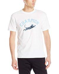 90cd68e78b93 Lyst - Champion Core T-shirt in White for Men