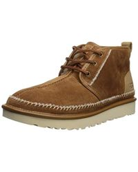 83beaaab1e9 UGG Neumel Stitch Chukka Boot in Brown for Men - Lyst