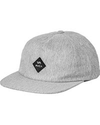 5b50be099b3 Lyst - Rvca Leines Five Panel Hat in Black for Men