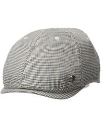 Perry Ellis - Houndstooth Driver Cap - Lyst