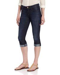 e5070429 Wrangler Molly Low Rise Skinny Jeans in Blue - Lyst