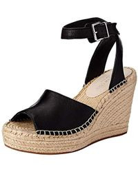 0e7eda5553f Kenneth Cole - Olivia Two Piece Espadrille Wedge Sandal - Lyst