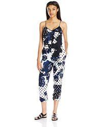 Clover Canyon - Sportswear Draped Woven Jumpsuit - Lyst
