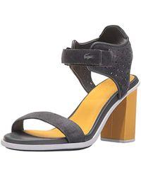 b1b7e6eef Lacoste - Lonelle Heel Sandal 216 1 Dress Pump - Lyst