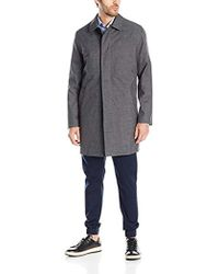 Kenneth Cole - Rally Single-breasted Fly-front Raincoat - Lyst