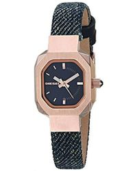 DIESEL - 'bad B.' Quartz Stainless Steel And Cloth Casual Watch, Color:blue (model: Dz5569) - Lyst