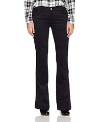 Armani Jeans - Mid Rise Wide Leg - Lyst