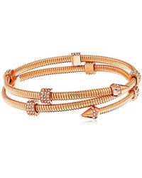 Vince Camuto - Coil With Pave Bracelet - Lyst
