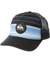 Quiksilver - Highline Swell Trucker Hat - Lyst