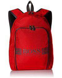 BOSS - Boss Green Pixel Backpack - Lyst