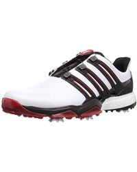 eb983e2efad8b Lyst - adidas Powerband Boa Boost Golf Shoes in Blue for Men - Save 13%