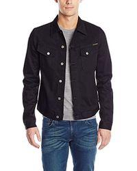 Nudie Jeans - Kenny Dry Black Jacket - Lyst