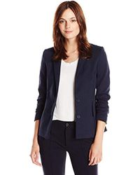 Lacoste - Long Sleeve Cotton Stretch Milano Blazer, - Lyst