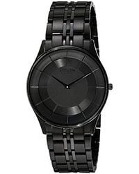 Citizen - Eco-drive At4007-54e Perpetual Chrono A-t Black Ion Plated  Stainless Steel 08c04734f69