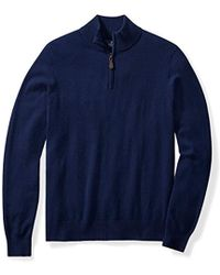 Buttoned Down - Cashmere Quarter-zip Sweater - Lyst
