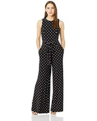 Tommy Hilfiger Printed Jersey Jump Suit