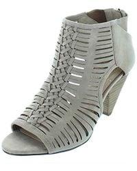 33c0e384aade Lyst - Vince Camuto Eldora Dress Sandal in Brown