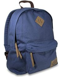 74478db928bb Lyst - Hype Navy yellow Speckle Backpack in Blue for Men