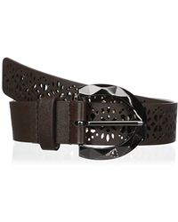 Betsey Johnson - Perforated Pant Belt - Lyst
