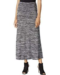 2a4134ff4 Hot Kensie - Drapey Space Dye Maxi Skirt - Lyst