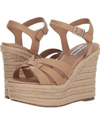 facac9dd76d Steve Madden - Knight Espadrille Wedge Sandal - Lyst