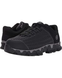 Timberland - Powertrain Sport Slip On Alloy Toe Sd+ Industrial & Construction Shoe, Black Ripstop Nylon, 11 M Us - Lyst