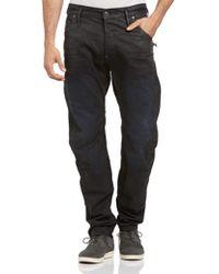 G-Star RAW - New Arc Zip 3d Low Jean In Effer Denim - Lyst