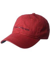 wholesale dealer 3cd02 d521f Men s Tommy Hilfiger Hats - Lyst
