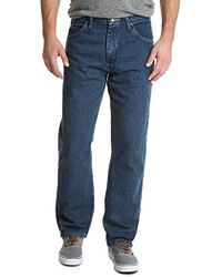 Wrangler - Classic Authentics Relaxed Fit Jean - Lyst