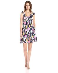 Donna Morgan - Tulip Print Dress - Lyst