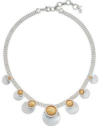 Lucky Brand - S Satin Finish Collar Necklace - Lyst