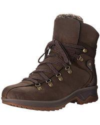 b0de79f1e9172 Sam Edelman Ridge Leather Boots in Brown - Lyst