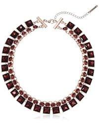 T Tahari - 2 Row Nk Necklace - Lyst