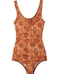 RVCA - Junior's Calvin Bodysuit - Lyst