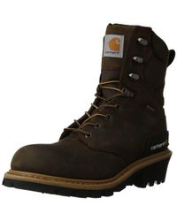 """Carhartt - 8"""" Waterproof Breathable Soft Toe Logger Boot Cml8169 - Lyst"""